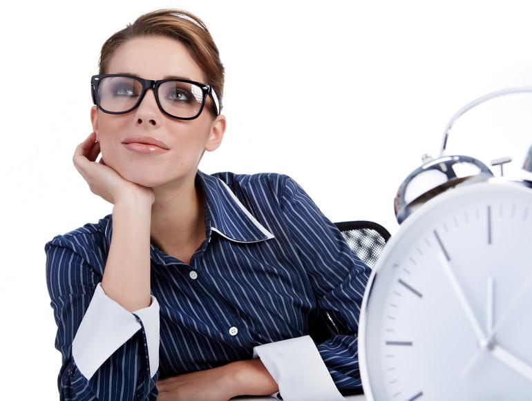 Сотрудник мечтает об отпуске