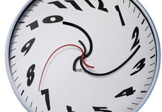 Кривые часы